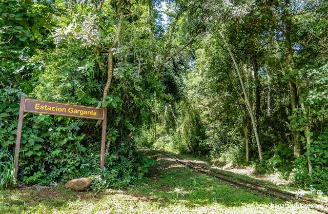 Estação Garganta do Diabo, no lado argentino das Cataratas do Iguaçu