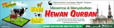 Desain Banner Qurban PSD