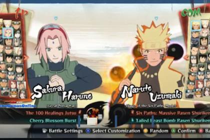 Kumpulan game Naruto terbaik 2019