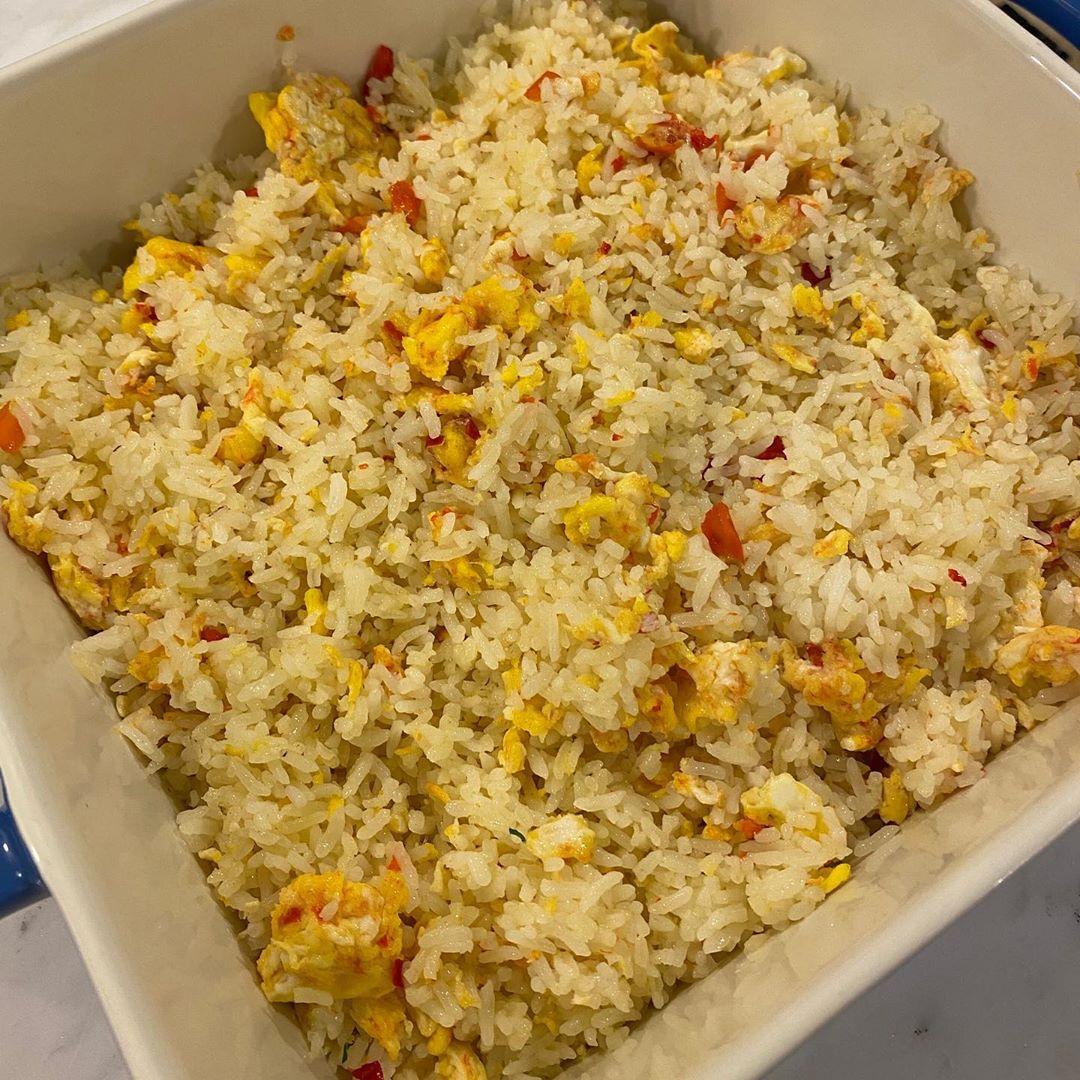 resepi raja permaisuri agong nasi goreng sosej mentega