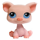 Littlest Pet Shop Large Playset Pig (#87) Pet