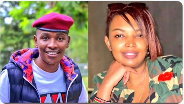 Karen Nyamu and Kikuyu singer Samuel Mucoki, well known as Samidoh photo