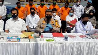 Polisi Tetapkan 5 Orang Tersangka Kasus Penyiraman Wartawan di Medan