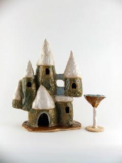 Malarko Hernandez Naive Ceramics Castle