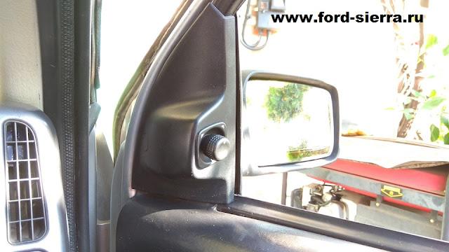 Регулируемое электрически зеркало ford sierra
