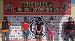 Berkat informasi  Masyarakat Sering Transaksi Sabu-sabu, Tiga Penyanyi Diringkus Tekab Polsekta Kotapinang