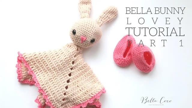 Tutorial Paso a Paso: Manta de Apego Bella Bunny Lovey a Ganchillo