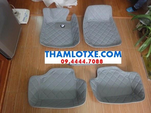 thảm lót sàn xe ô tô 3d màu ghi