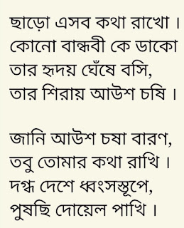 Amar Etuk Sudhu Chaoa Lyrics Rajlokhi O Srikanto