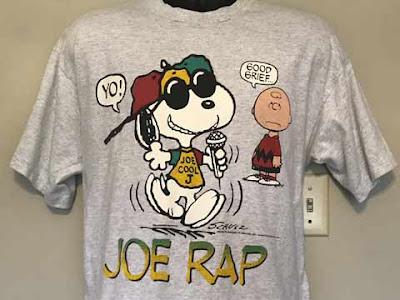 Maglietta con Snoopy versione rap