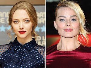Margot Robbie replace Amanda Seyfried on the set of new movie
