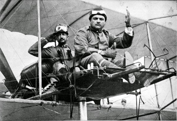 primer piloto herido en combate de la historia