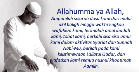 Begini Cara Meraih Malam Lailatul Qadar Menurut Ustadz Arifin Ilham