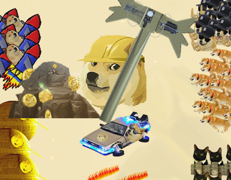 Dogeminer earth, na terra