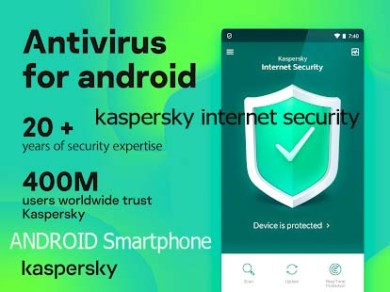 Kaspersky Antivirus For Android 1 year Free License Key