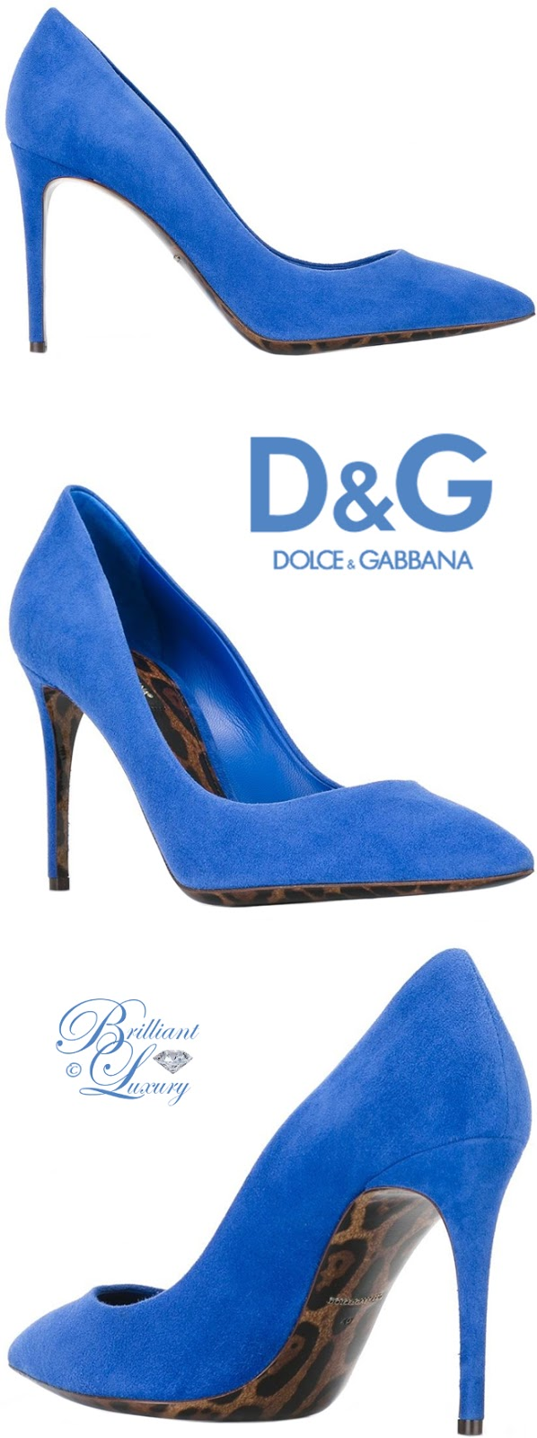 Brilliant Luxury ♦ Dolce & Gabbana Belucci Pumps
