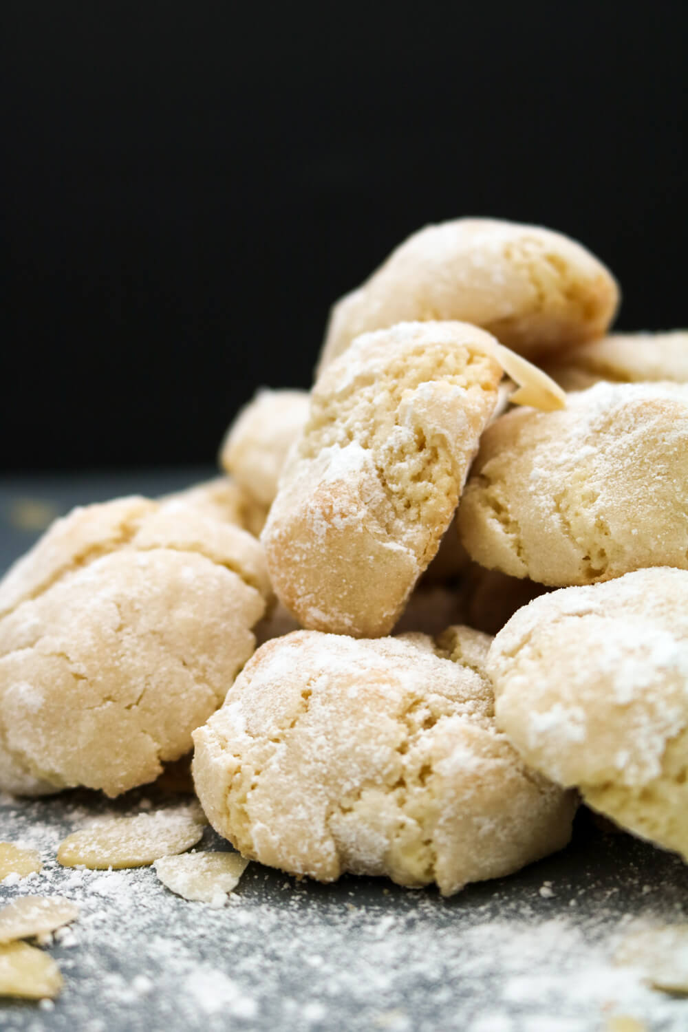 Soft Amaretti Biscuits | Take Some Whisks