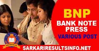 Bank Note Press BNP Various Post