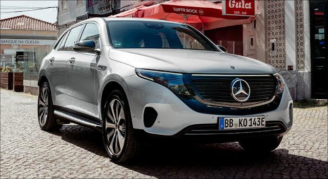 Xe ôtô điện Mercedes EQC 2021