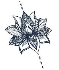 Small and simple flower tattoos are a beautiful category for girls.