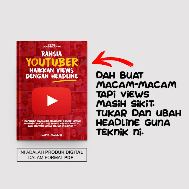 cara naikkan views youtube