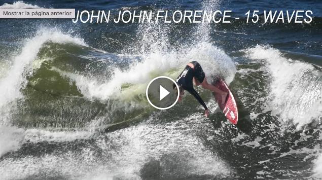 John John Florence - 15 Waves