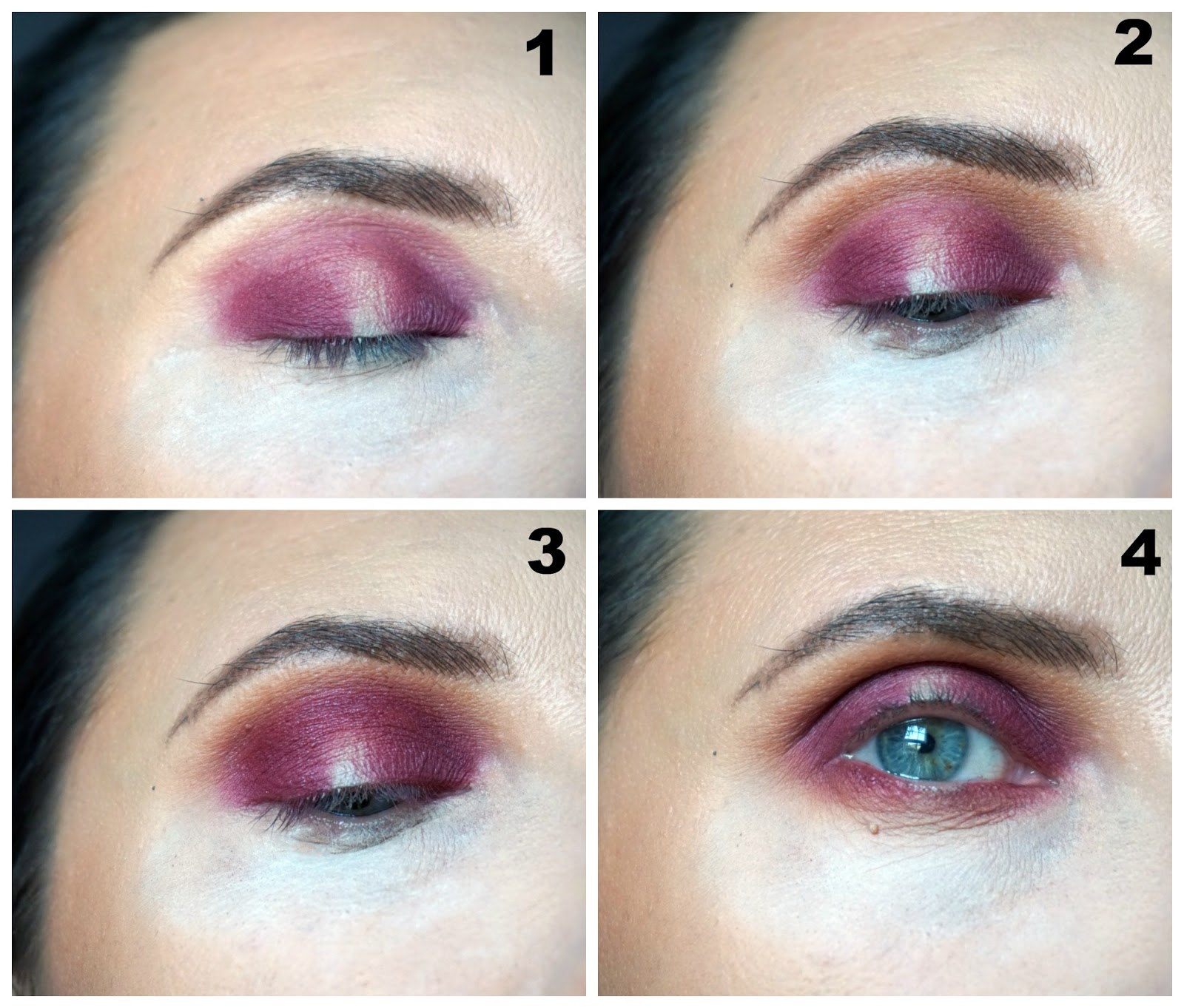 Date night eye look created with ABH Modern Renaissance palette