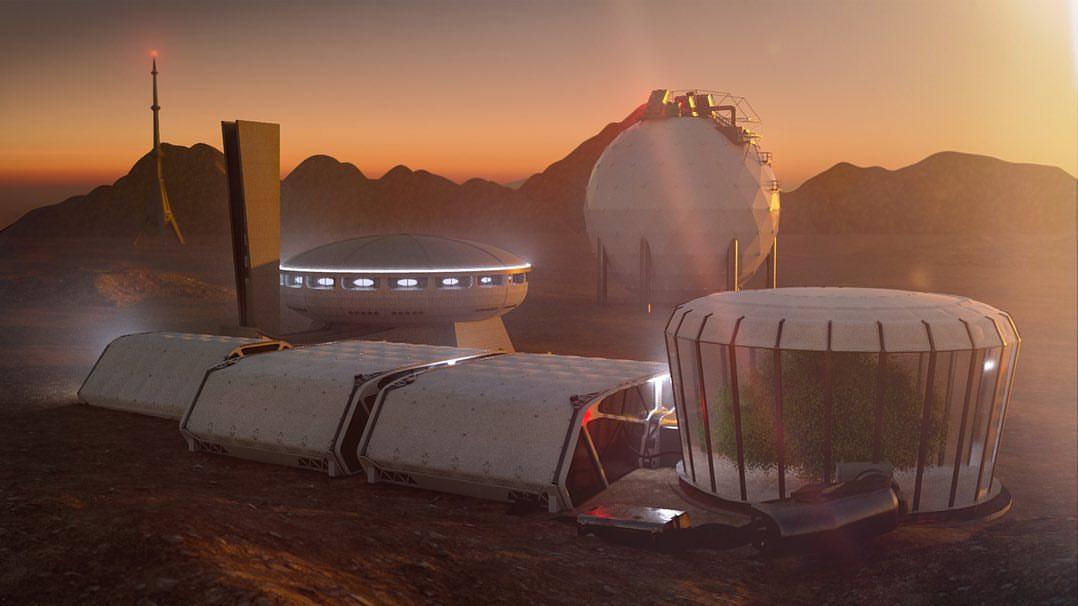 Mars base by Ondra Štefák