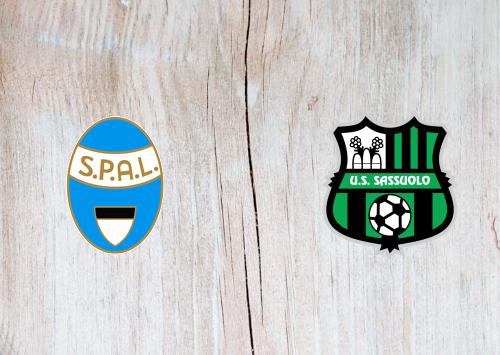 SPAL vs Sassuolo -Highlights 9 February 2020