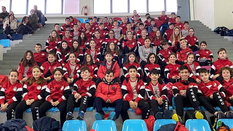 Πρωτιά για τα «δελφινάκια» του ΟΦΘΑ στους Χειμερινούς Αγώνες Κολύμβησης Αν. Μακεδονίας και Θράκης