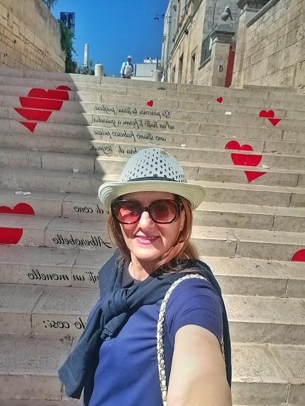 scalinata dell'amore