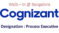 Cognizant Bangalore Hiring Freshers This Week