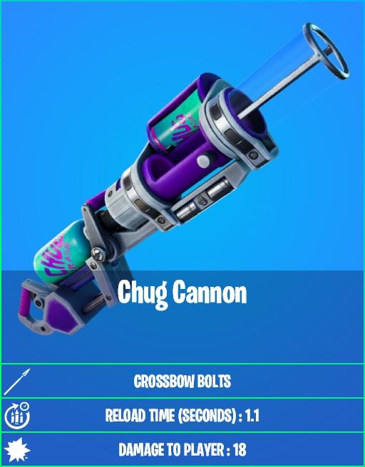 Chug Cannon in Fortnite