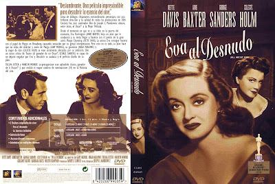 Carátula dvd: Eva al desnudo (1950) All About Eve