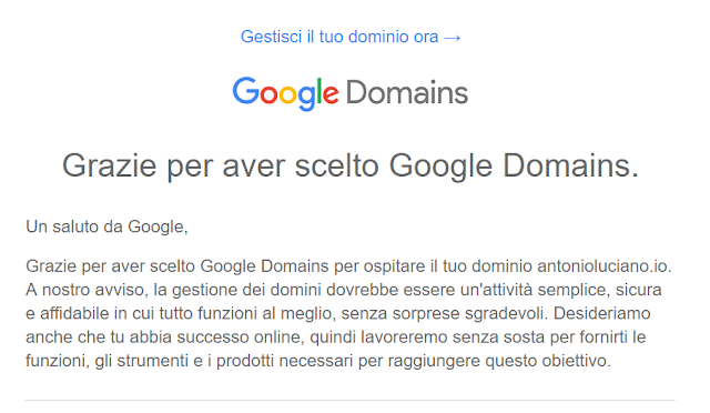 Google Domains blogger blog blogging business online marketing digitale