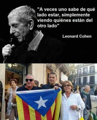 Leonard Cohen, de qué lado estar