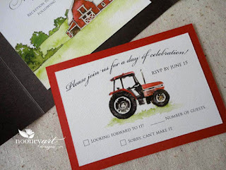 Farm-Inspired-Wedding-Invitation-with-tractor-theme