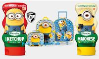 Logo Develey ''Squeeza l'allegria'' e vinci 50 Kit trolley e zaino per la scuola Minions by Heys