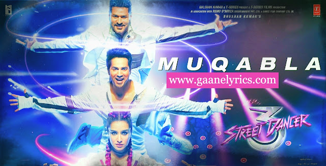 Street Dancer-A.R Rehman Muqabla New Song Lyrics in HIndi