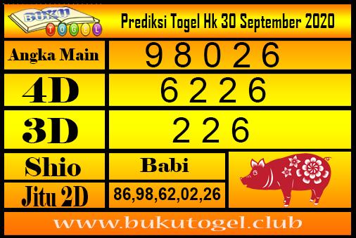 Syair Togel Hk 30 September 2020