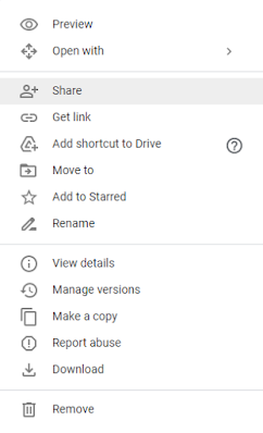 Cara Berbagi File Menggunakan Google Drive
