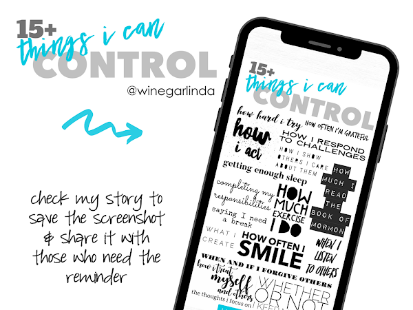15+ Things I Can Control