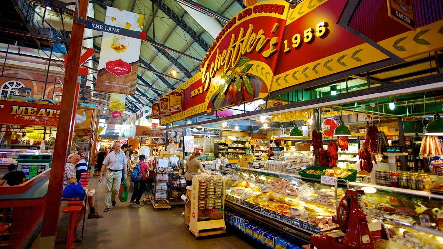 Mercado St. Lawrence principais pontos turísticos do Canadá
