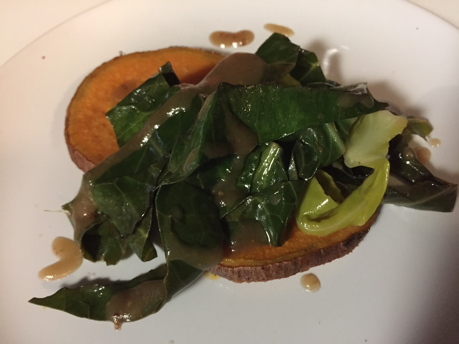 Painted Elephant - Sweet potato & greens