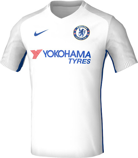 Chelsea Nike Home, Away And Third Kit Concepts
