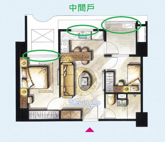 買房選戶型是「邊間戶」還是「中間戶」好_ 一次看懂優缺點大分析3_房地產筆記