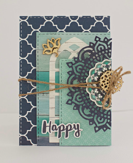 Kaisercraft Ubud Dreams Card by Alicia McNamara