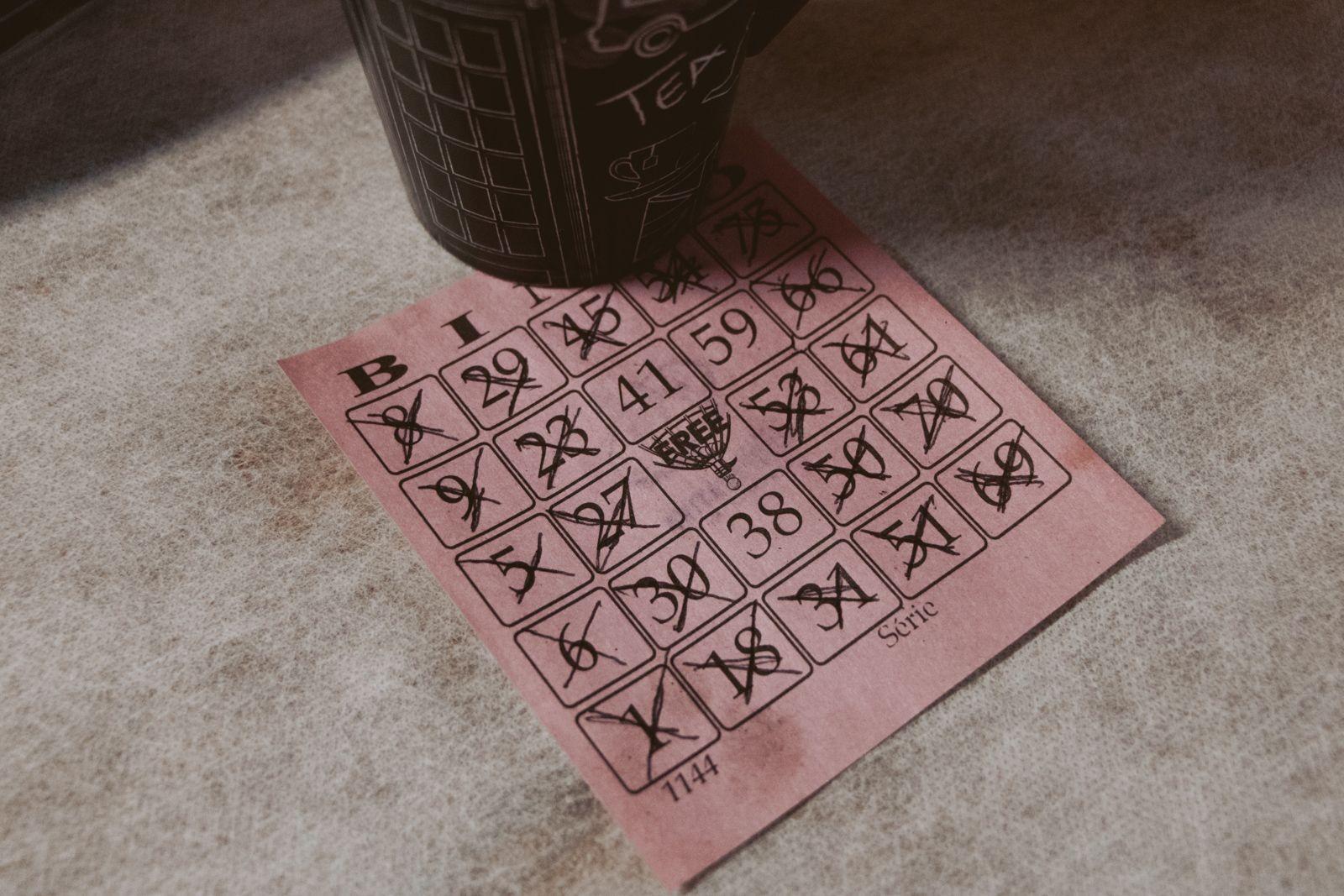 Natal 2019 cartela de bingo