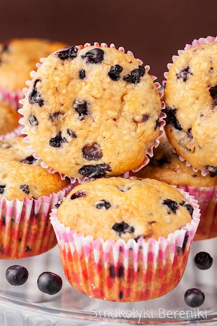 Muffiny z kwaśną śmietaną