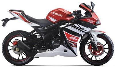 Krisaki Vixa 250 sport bike Hd Image